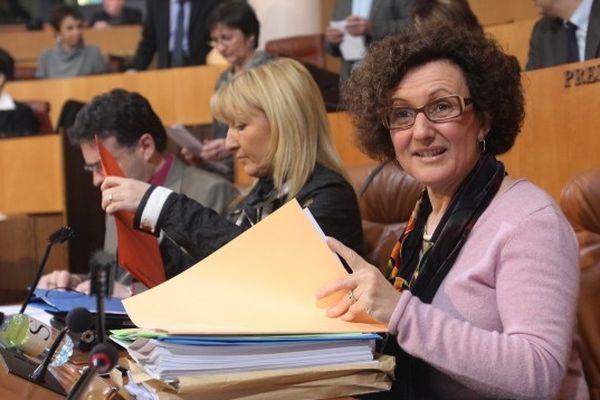 Maria Guidicelli, conseillère territoriale en charge du PADDUC - Assemblée de Corse Janv.2011