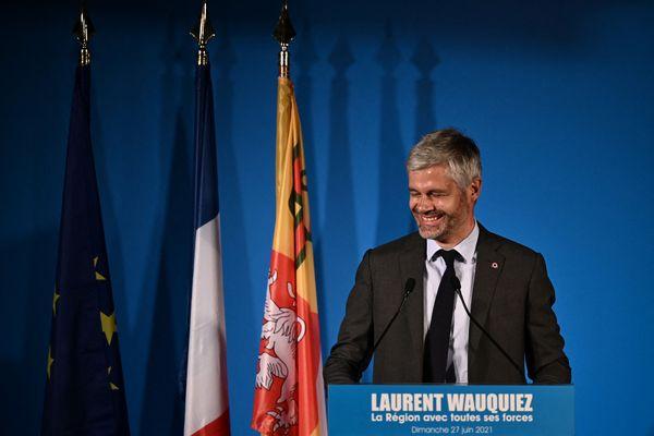 Laurent Wauquiez a remporté le 27 juin 2021 l'élection régionale en Auvergne-Rhône-Alpes. Avec plus de 55% des voix, il obtient 136 des 204 sièges du Conseil régional.