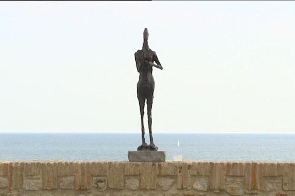 La terrasse du Musée Picasso à Antibes