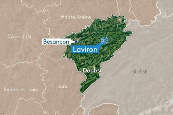 Commune de Laviron (Doubs)