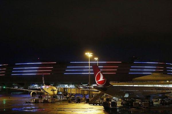 Illustration l'aéroport de Roissy, la nuit