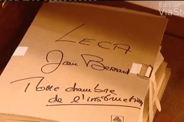 23/09/14 - Jean-Bernard Leca comparaît devant la cour d'assises des Bouches-du-Rhône pour l'assassinat de Noël Andreani