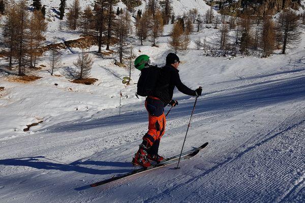 A Isola, on profite déjà de la neige avant l'ouverture officielle du domaine skiable.