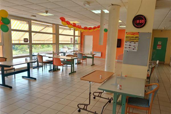 L'Ehpad des 3 Lacs, à Monclar-de-Quercy, bien vide pendant la grève. Une partie du personnel a tout de même été réquisitionnée.