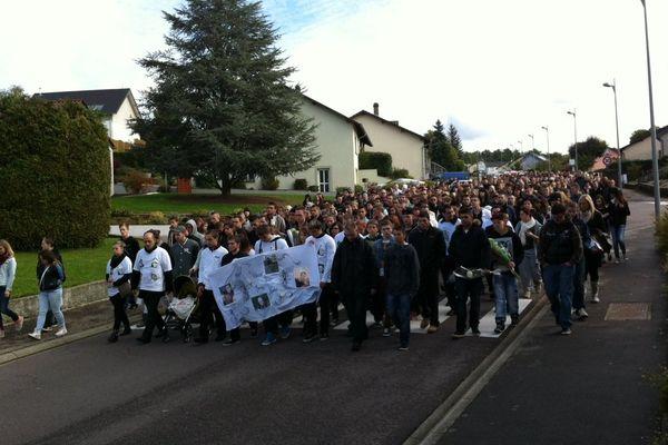 Une marche blanche en mémoire de Jérémy.