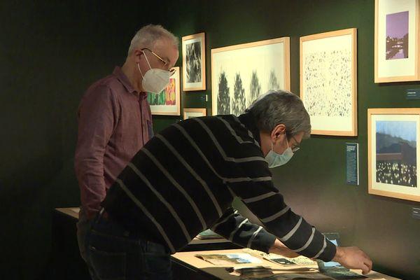 Emmanuel Guibert a travaillé plus de trois mois sur cette exposition au Musée d'Angoulême.