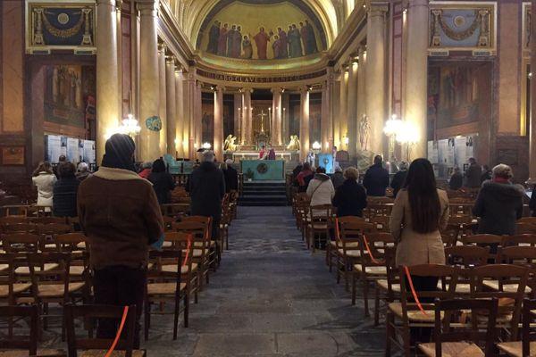 Ce dimanche 29 novembre, il y avait plus de 30 personnes à assister à la messe de 10 h 30
