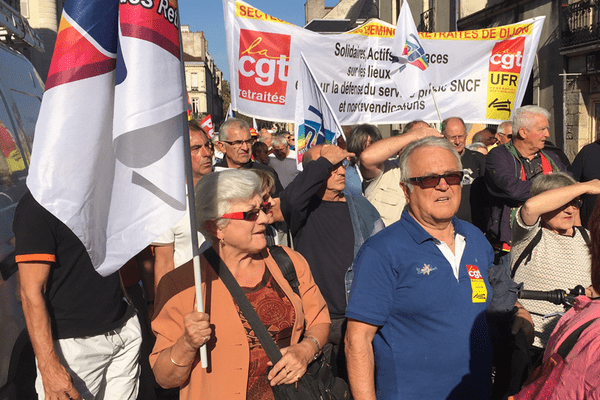 Manifestation des retraités ce jeudi 18 octobre 2018