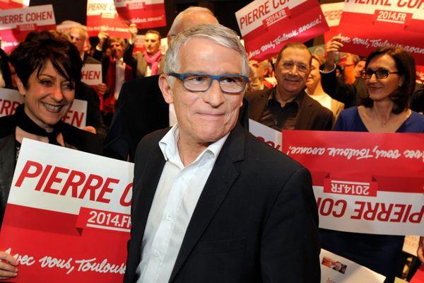 Pierre Cohen jeudi soir lors de son dernier meeting