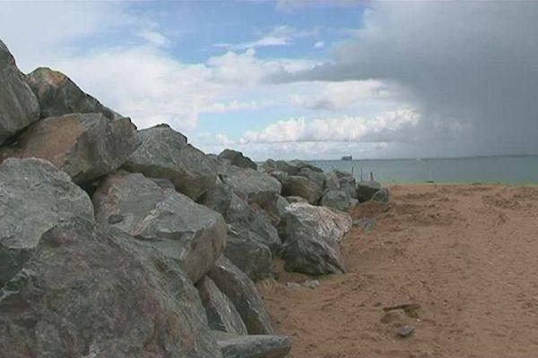 Les travaux du chantier de protection du littoral commencent à Boyardville sur l'île d'Oléron.