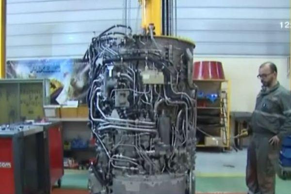 La pièce principale du moteur.