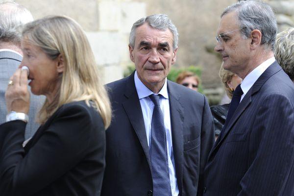 Au centre, Pierre-Yves Revol, le nouvel homme fort du Groupe