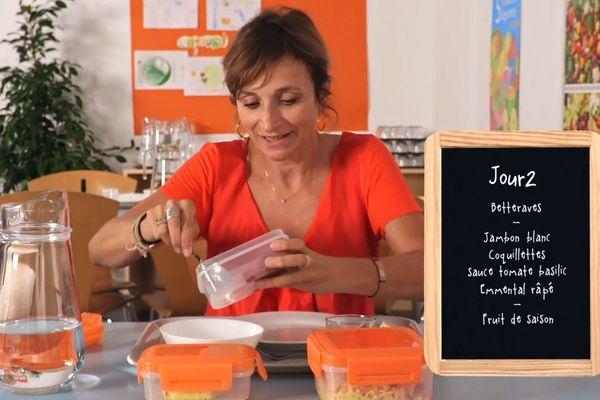 """Valérie Simonet a mangé """"comme à la cantine"""", durant 20 jours"""