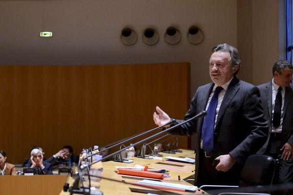 Jean-Noël Guérini président du conseil général des Bouches-du-Rhône depuis 1998.