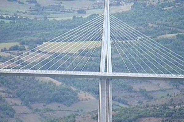 Le viaduc de Millau a ouvert ses portes pour les journées du patrimoine
