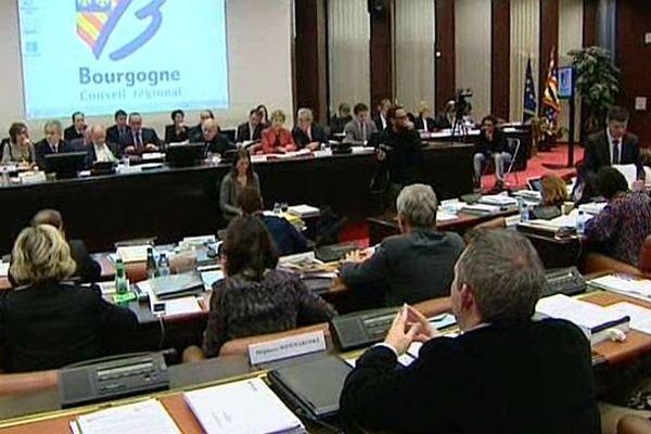 Une session extraordinaire a eu lieu au conseil régional de Bourgogne mardi 13 janvier 2015 pour faire un point sur les préparatifs de la fusion entre la Bourgogne et la Franche-Comté.