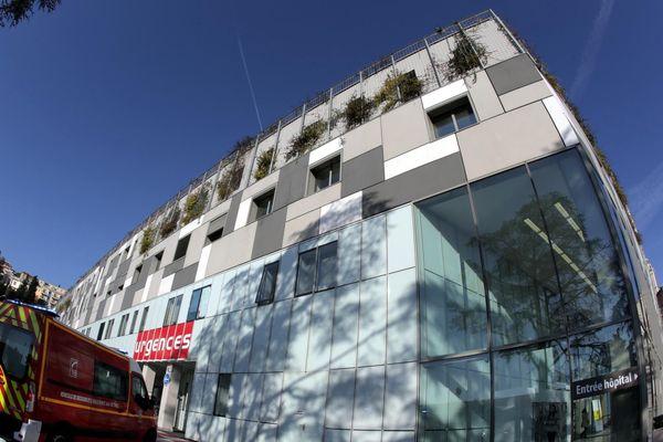 L'hôpital Pasteur de Nice où avait été hospitalisé le jeune homme dimanche.