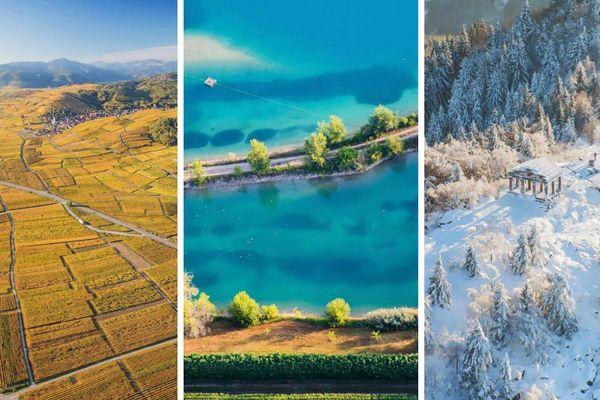 Un aperçu (tronqué) des photos de Tristan Vuano au-dessus de l'Alsace.