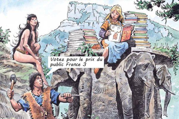 L'affiche du 44e festival Chambéry Savoie BD
