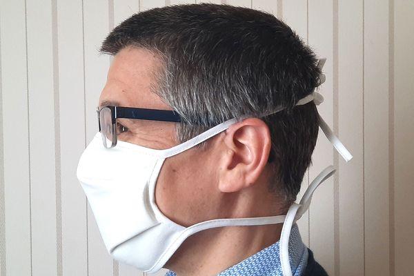Voilà le masque qui sera distribué par la Ville de Rennes aux habitants