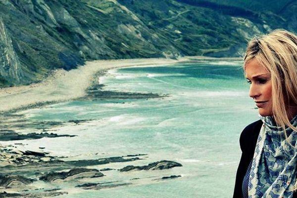 La mode au Pays basque comme ici dans une création originale de la créatrice Sylvie Doxaran