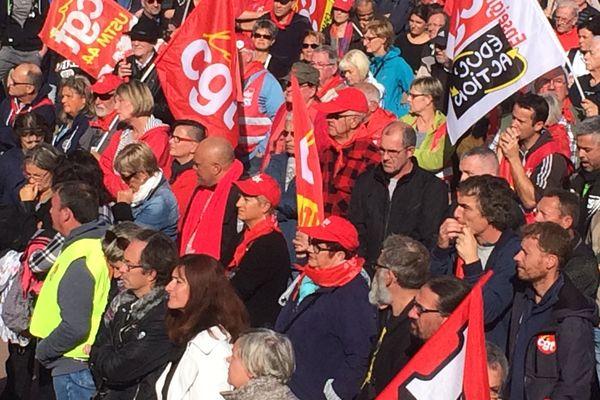 200 000 personnes sont descendues dans la rue pour la mobilisation contre la réforme du Code du travail, le 12  septembre 2017