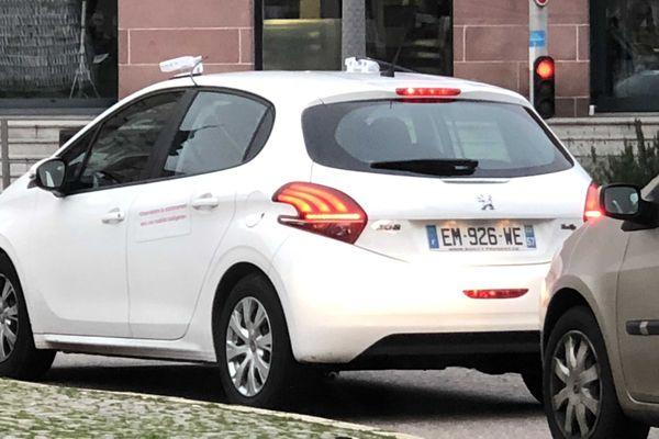La voiture d'observation du stationnement dans l'agglomération messine