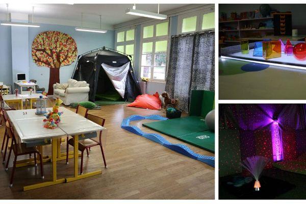 A Buxy, en Saône-et-Loire, l'association R'éveil autisme accueille les enfants en situation de handicap. Elle propose des activités d'éveil sensoriel.