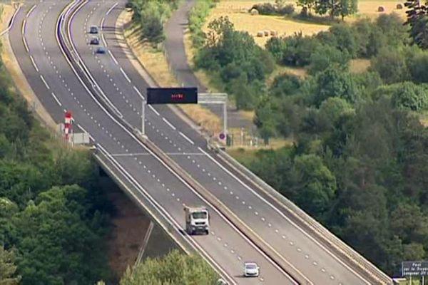 Plusieurs tronçons d'autoroute seront fermés à la circulation dimanche.