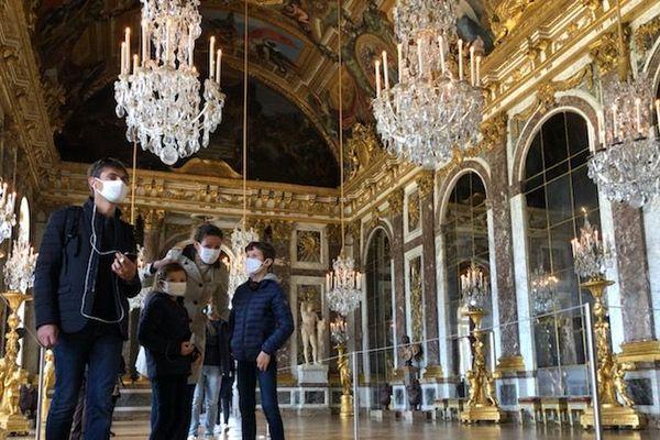 La galerie des Glaces retrouve ses visiteurs.