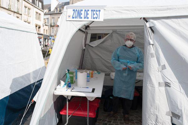C'est en Corse que la part de la population vaccinée est la plus importante en France.