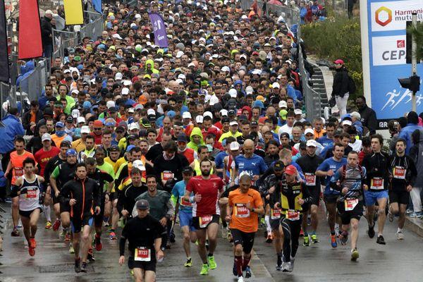 La circulation sera interdite sur les parcours empruntés dimanche par les 15.000 coureurs du Run in Marseille.