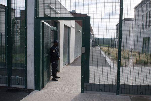 Vue de la prison d'Aix-Luynes II, en octobre 2018.
