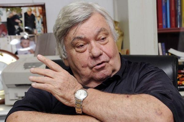 Louis Nicollin - président du MHSC - 2012.