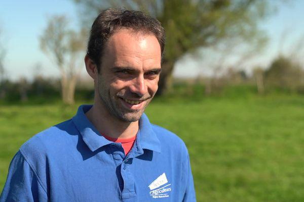 Edouard Brunet est président des Jeunes Agriculteurs Hauts-de-France.