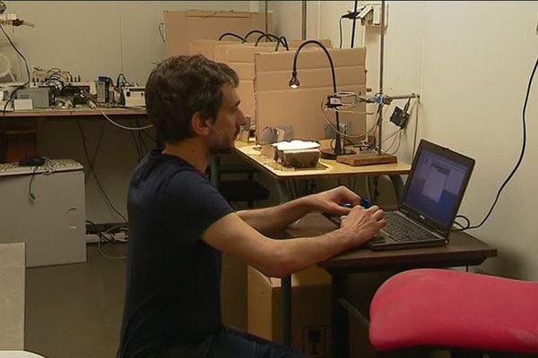 Fernando Mordi Guerrieri, neurobiologiste à l'Irbi de Tours