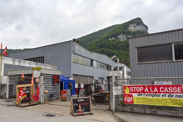 MBF Alumium à Saint-Claude.