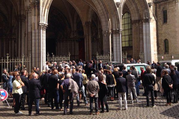 De nombreux proches et des personnalités du monde du sport étaient présents à Dijon ce mardi 8 août pour les obsèques de l'ancien joueur de tennis dijonnais Jérôme Golmard.