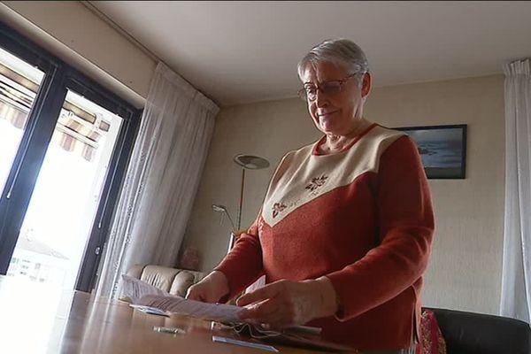 Mauricette milite au côté de l'association ADMD pour la légalisation de l'euthanasie en France.