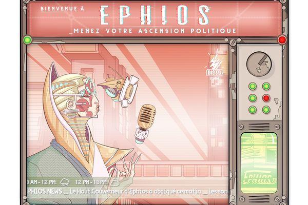 Ephios est un jeu de carte qui a besoin de financement pour être fabriqué.