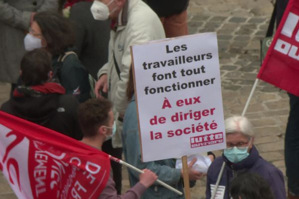 1er mai 2021 à Orléans.