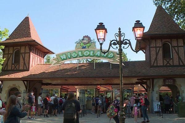 Le Parc d'attractions Nigloland a rouvert au public