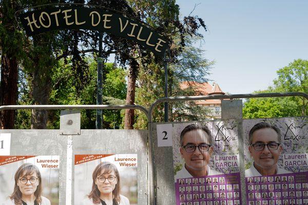 À Laxou, Laurent Garcia de la liste du Modem est arrivé en tête des suffrages au 1er tour, en récoltant 40,94 % des voix devant Laurence Wieser.