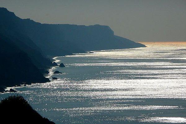 la côte normande