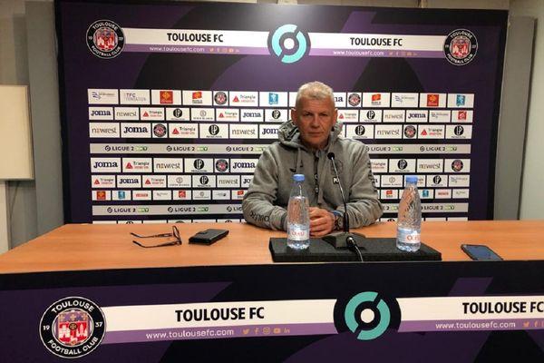 Les 3 nouveaux cas de Covid dans l'équipe du TFC et la perspective d'une qualification en Coupe de France compliquent la tâche de l'entraîneur Patrice Garande.