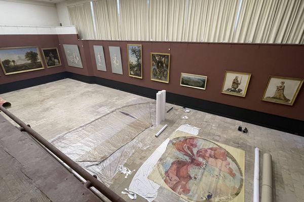 Pour la première fois, un plafond réalisé par Eugène Lami sera dévoilé au public à l'occasion de la nuit européenne des musées