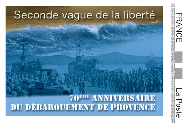 """Ce timbre collector s'appelle """"seconde vague de la liberté""""."""