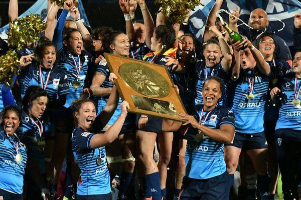 Les filles de Montpellier remportent le championnat de France - 18 mai 2019.