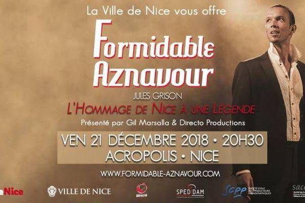Concert gratuit à Acropolis en hommage à l'auteur, compositeur et interprète franco-arménien, Charles Aznavour.