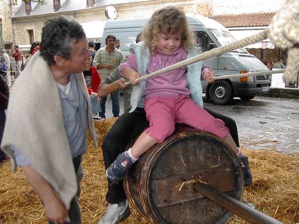 La fête des jeux traditionnels à Sarlat pour le bonheur des petits et des grands